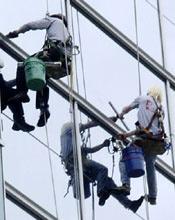 Услуги промышленного альпинизма в калининграде